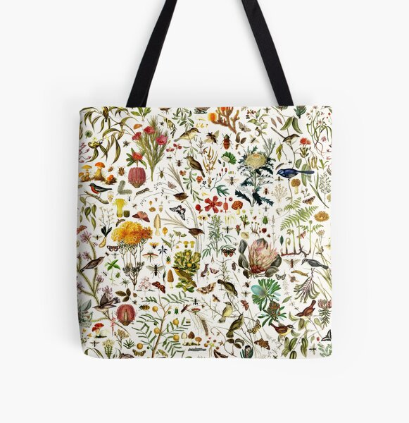 Biology Australia. All Over Print Tote Bag