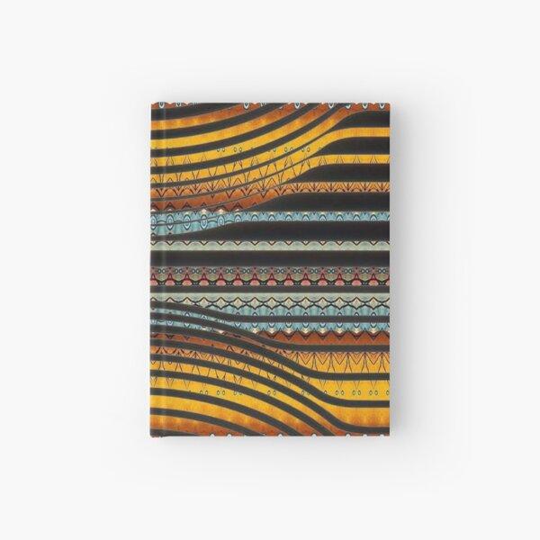 #Pattern, #abstract, #design, #art, shape, decoration, modern, vertical, textured, geometric shape Hardcover Journal