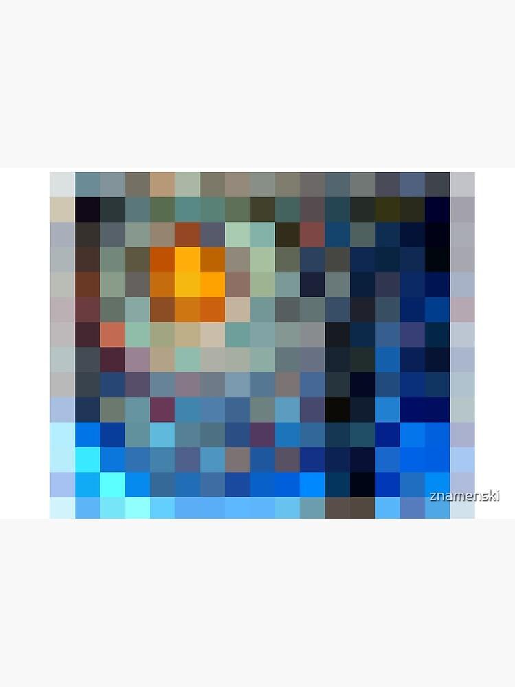 #Design, #plaid, #pattern, #illustration, blanket, square, gingham, textile, art, picnic, mosaic, pixel by znamenski