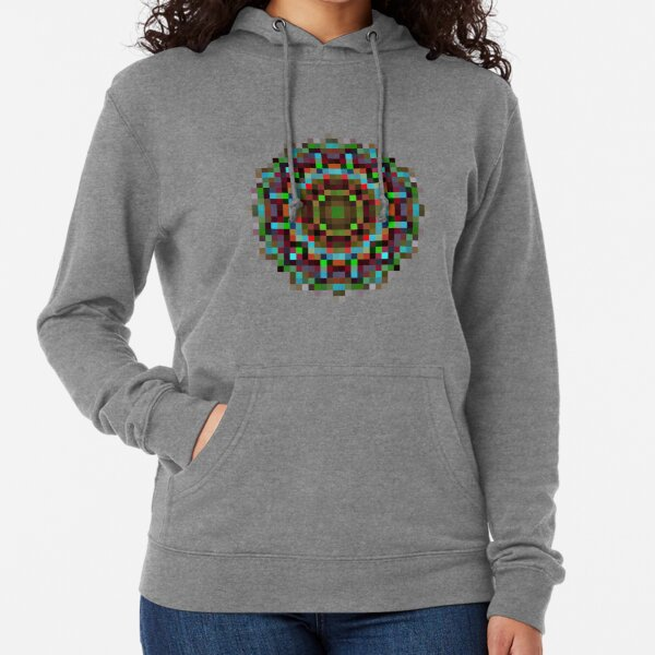 #art, #abstract, #illustration, #design, creativity, pattern, vector, square, mosaic, nature, decoration, color image Lightweight Hoodie