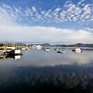 Sandy Bay Panorama by Mike Calder