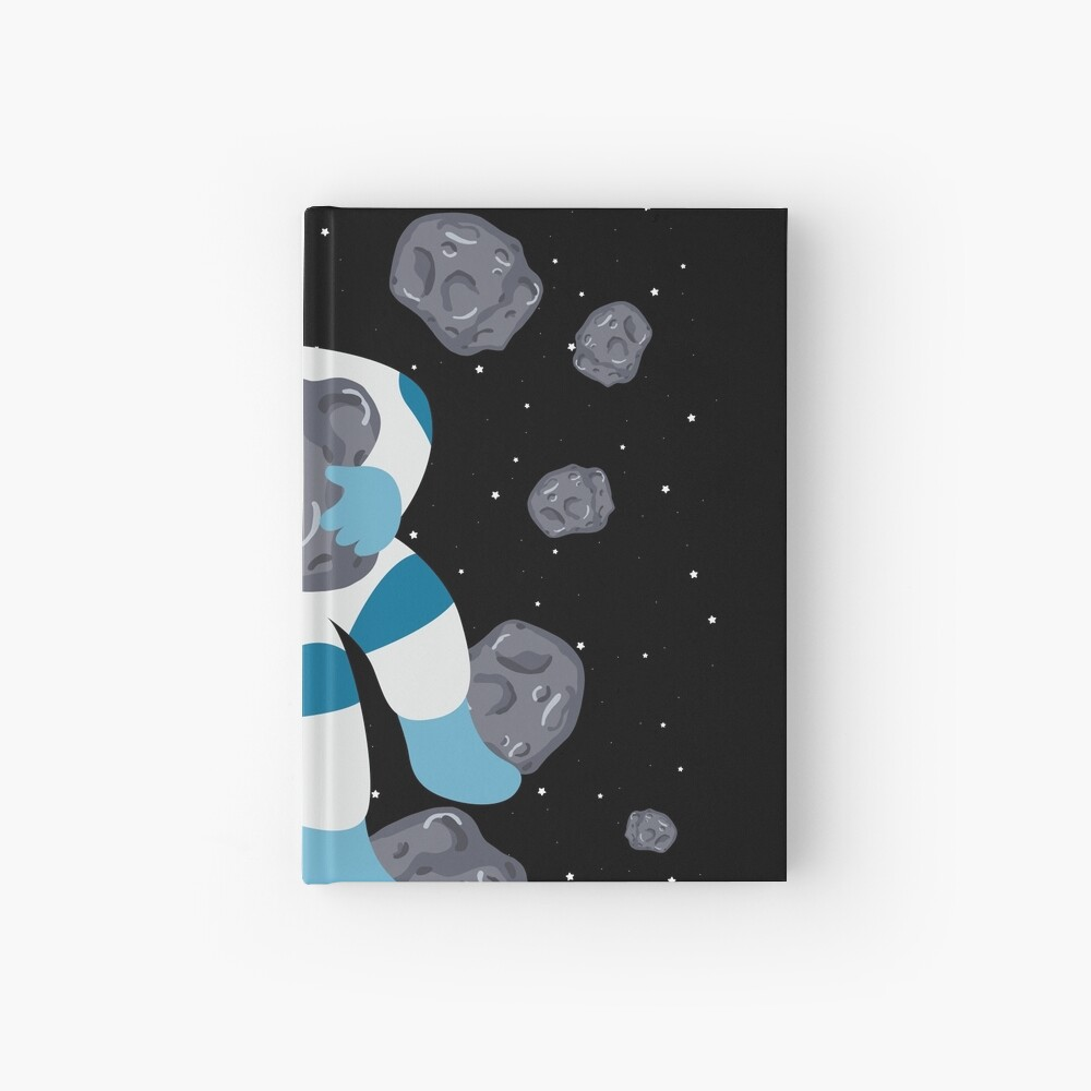 Asteroid Hugs Hardcover Journal