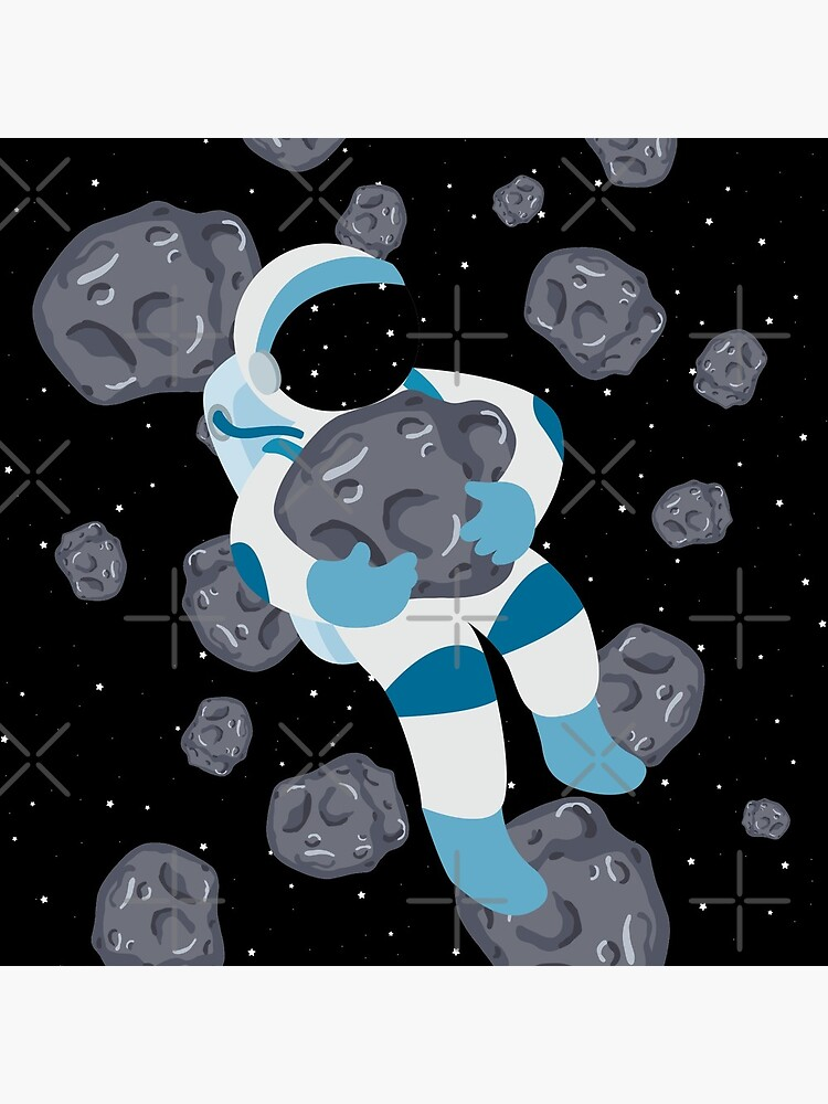 Asteroid Hugs by castl3t0ndesign