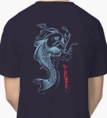 Koi Digital Brush Painting Classic T-Shirt