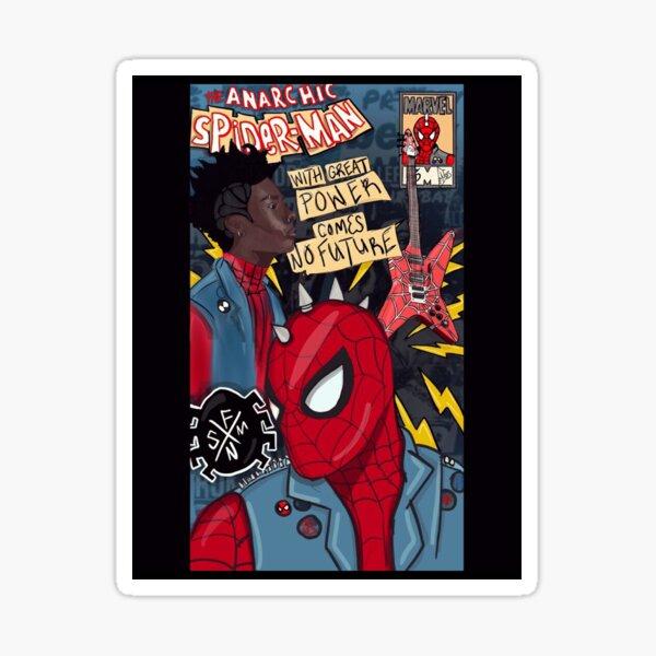 Spider Punk Sticker