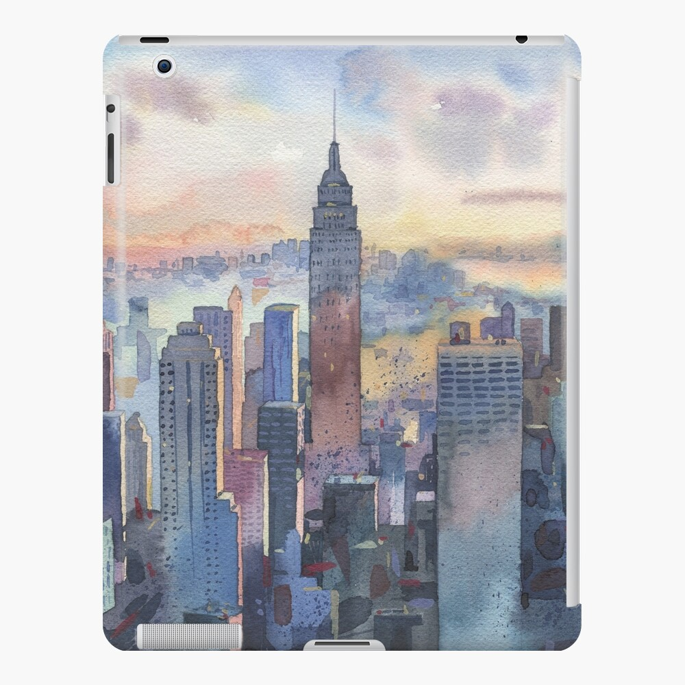 New York iPad Case & Skin