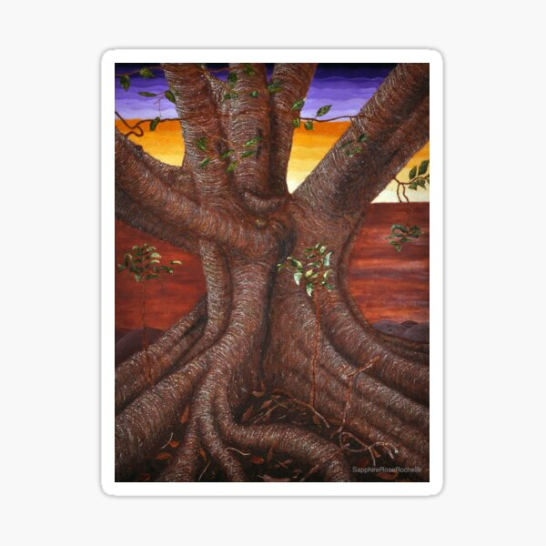 The Great Tree of Life  Sticker