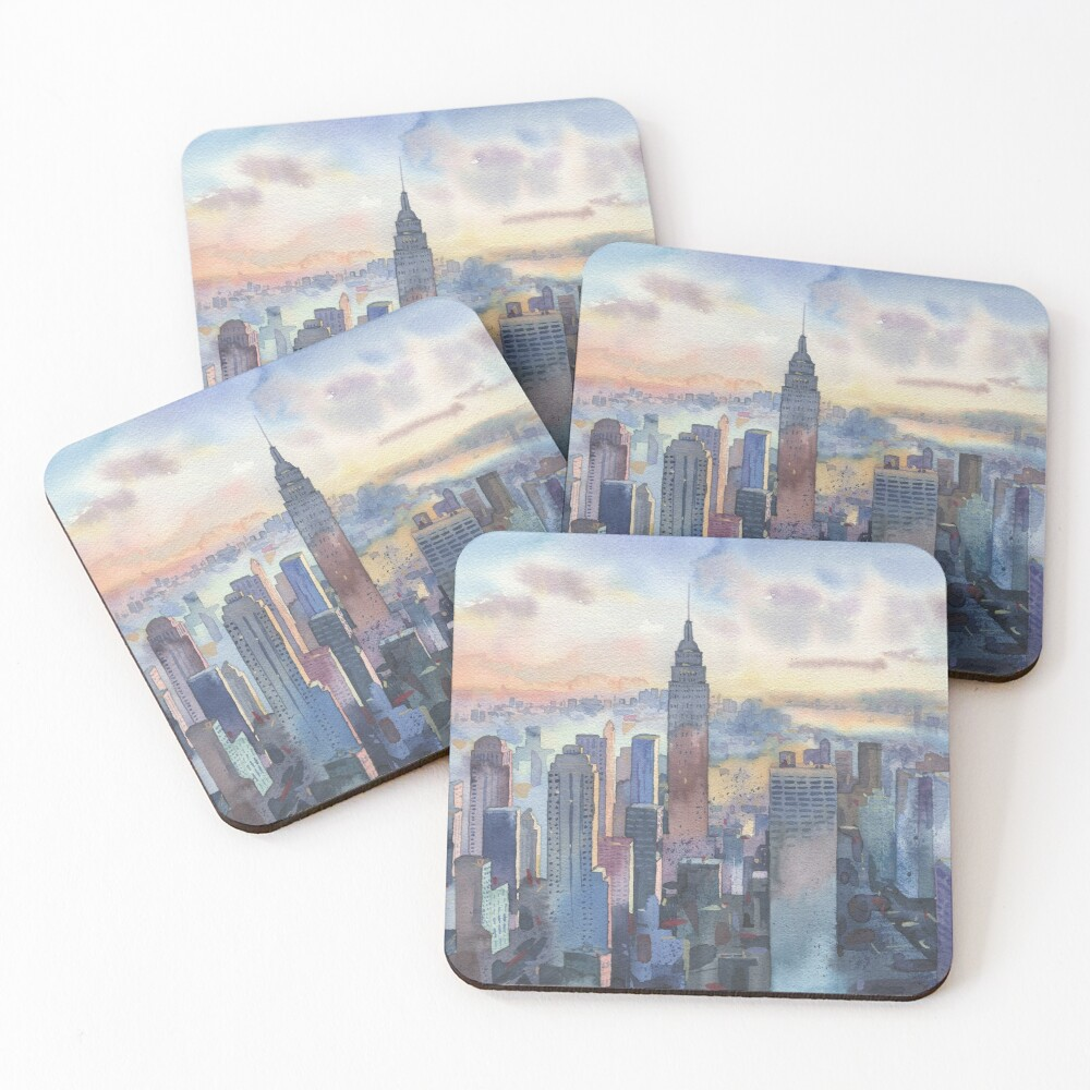 New York Coasters (Set of 4)