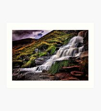 High Peak Flow Art Print