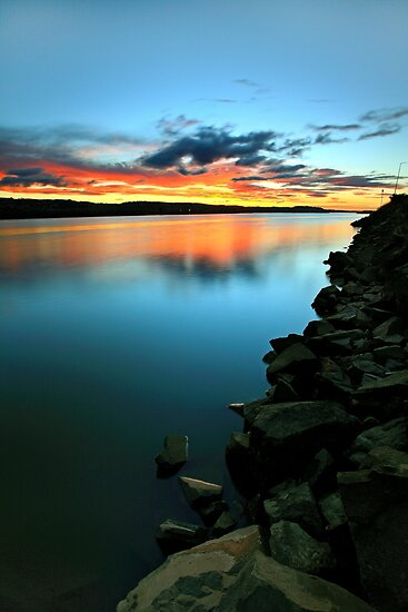 """""""Rocky ~ Foreshore"""" by Husky"""