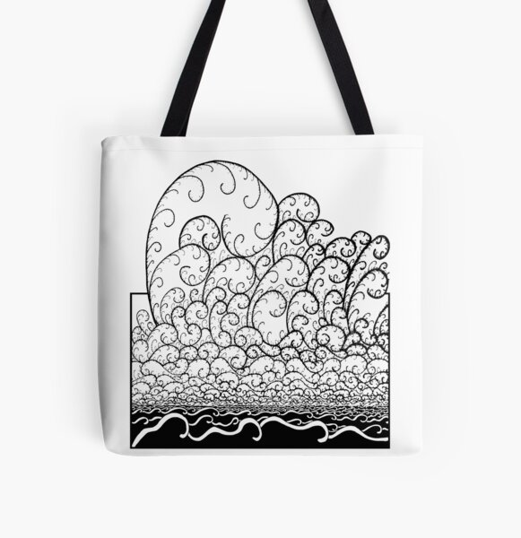 The Wave Tote bag doublé