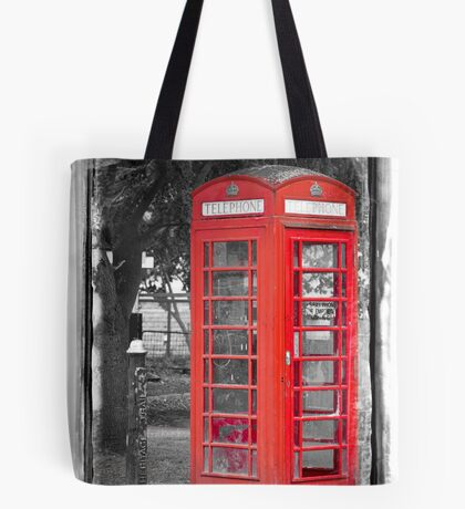 Heritage Trail No1: Red Telephone Box Tote Bag