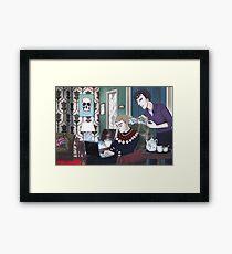 Late Lunch at 221B Baker Street Framed Print