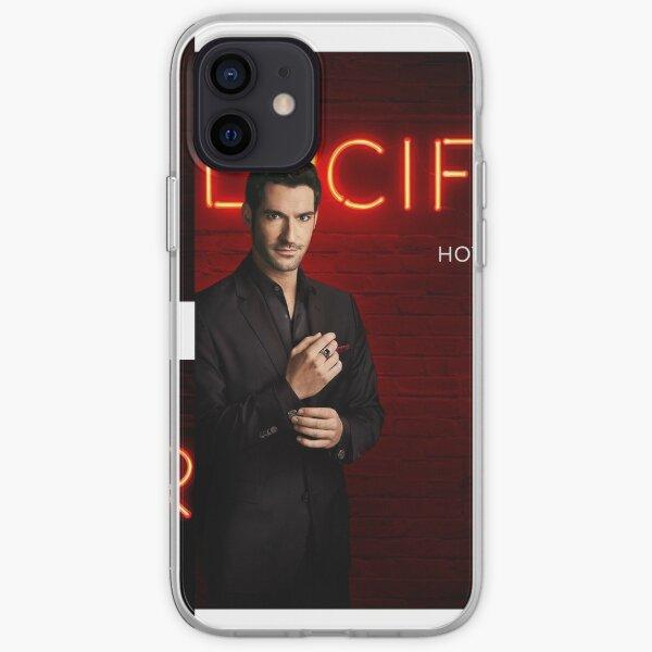Lucifer Morningstar Coque souple iPhone