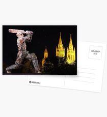 Sir Don Bradman Postcards