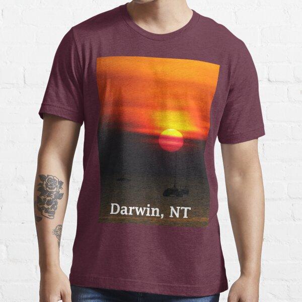 Darwin Sunset Essential T-Shirt