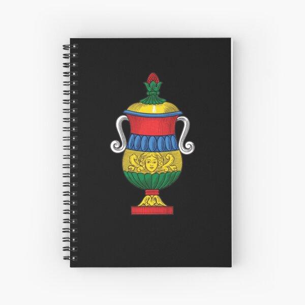 Italian Ace of Cups Scopa / Briscola card Spiral Notebook