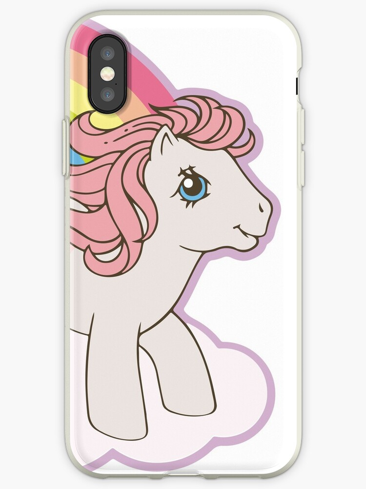 premium selection a4468 32a30 'My Little Pony - 80s' iPhone Case by hellolen