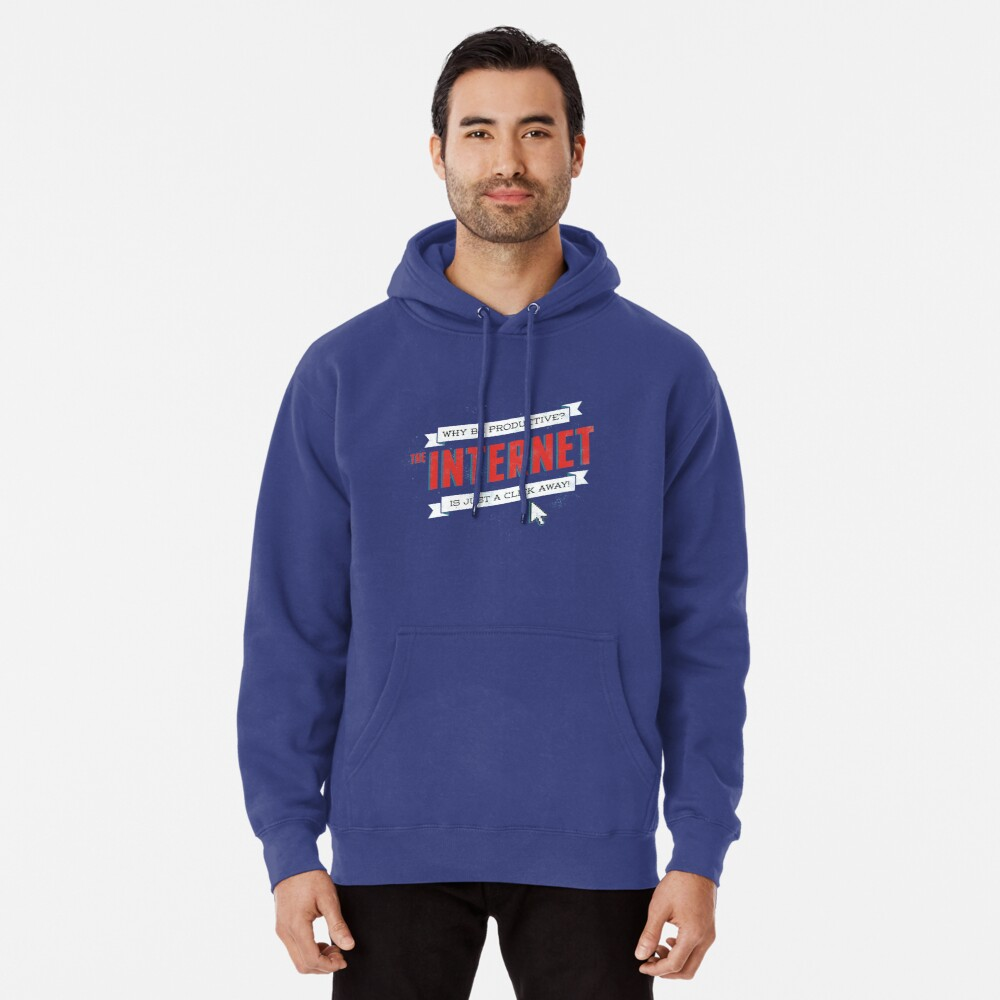 The Internet Pullover Hoodie