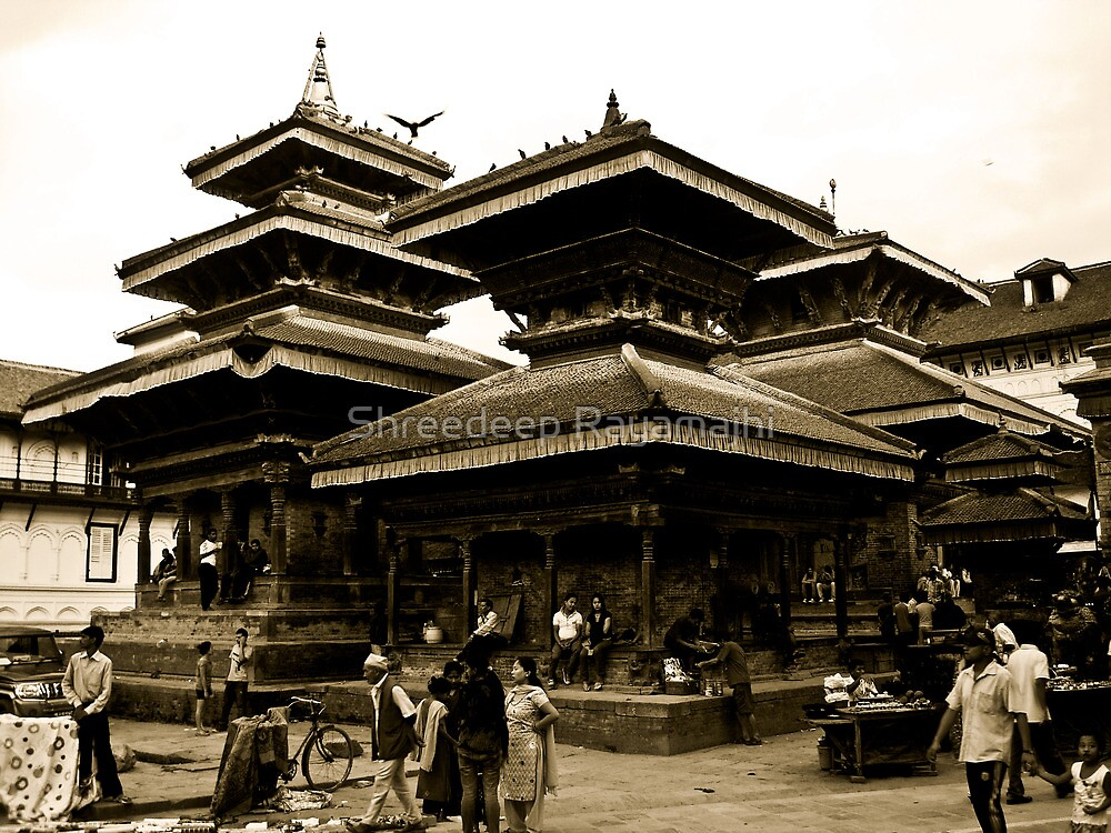 Evoked in History by Shreedeep Rayamajhi