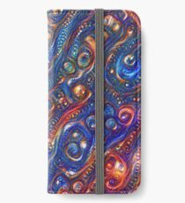 Fire and Water motif iPhone Wallet/Case/Skin