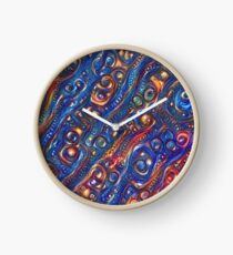Fire and Water motif Clock