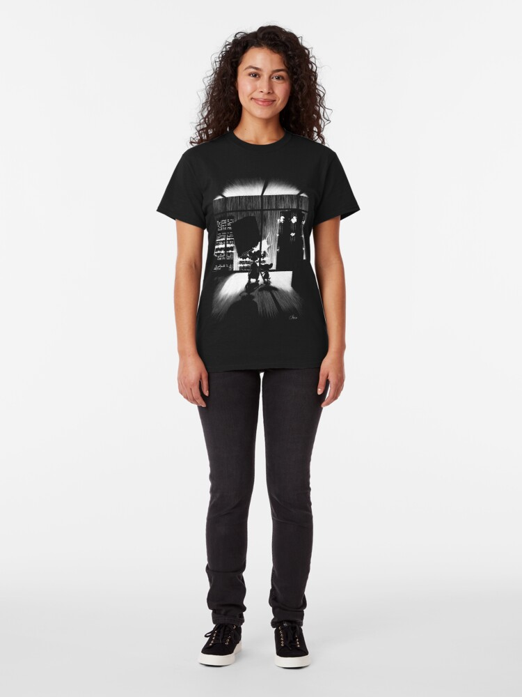 T-shirt classique ''With your feet in the air' : autre vue
