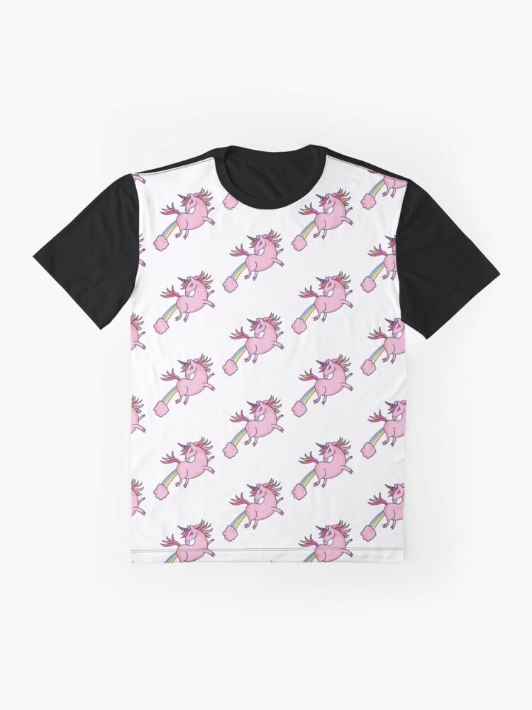 """Unicorn farting rainbows"" T-shirt by mishodja | Redbubble"
