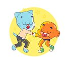 Gumball and Darwin (The Amazing World of Gumball) by IruExposito