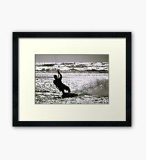 Kite Surfing 2 Framed Print