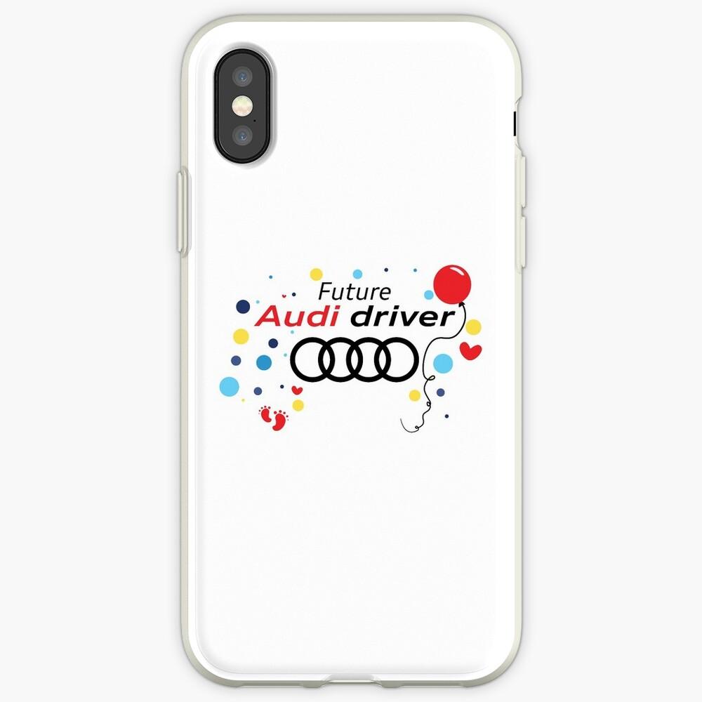 Zukünftiger Audi-Fahrer iPhone-Hülle & Cover