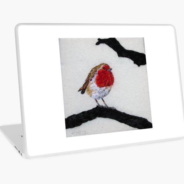 Winter Robin Laptop Skin