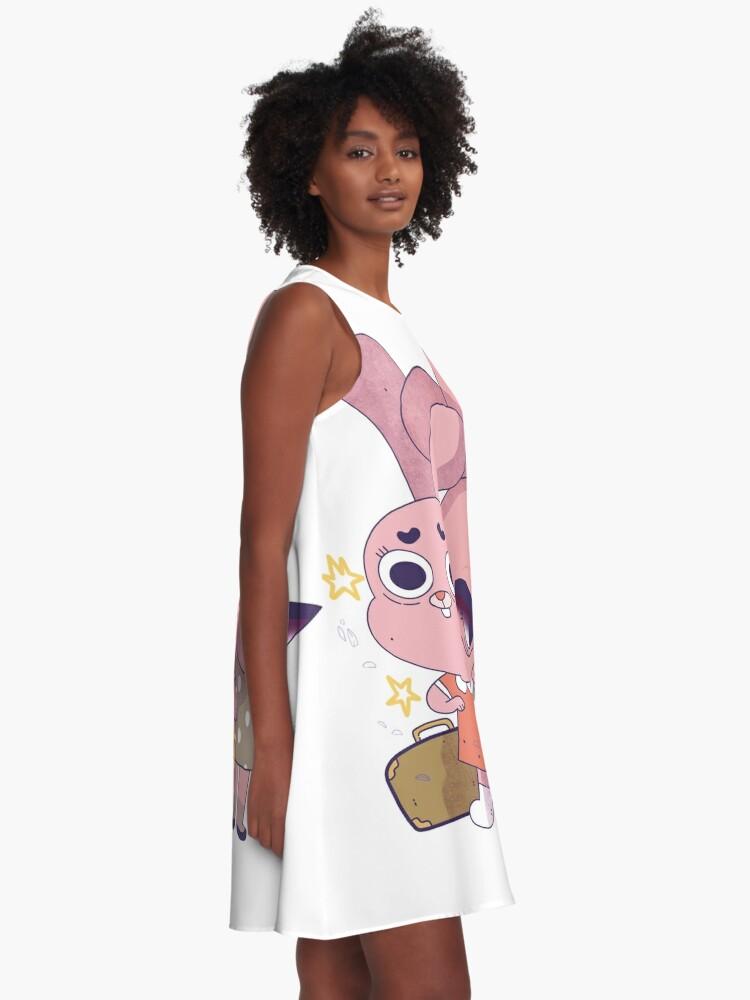 Alternate view of Anais and Granny Jojo A-Line Dress