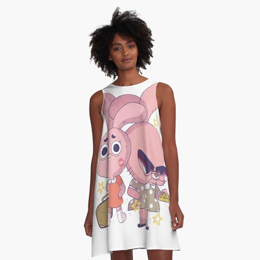 Anais and Granny Jojo A-Line Dress