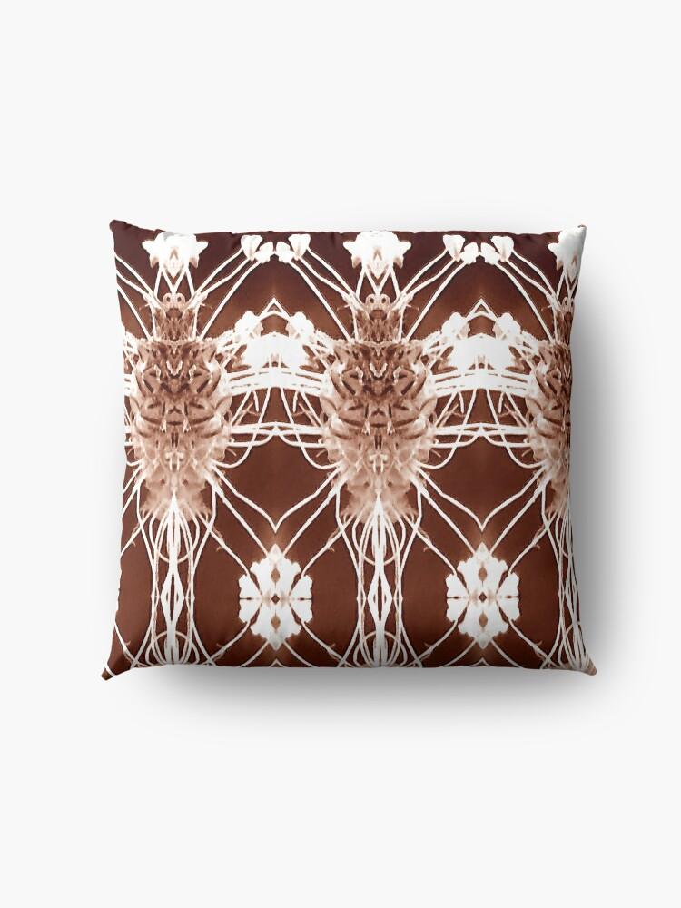 Alternate view of antique pattern Floor Pillow