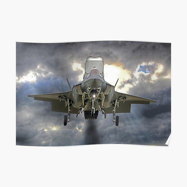 Lockheed Martin F-35B  Lightning II Poster