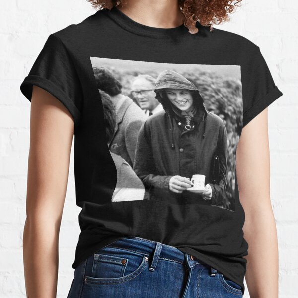 HRH Princess Diana Scotland 1985 - Professional Photo Classic T-Shirt