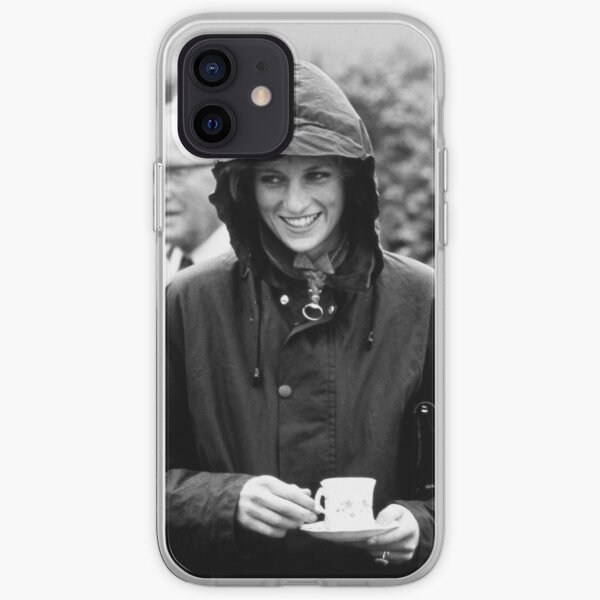 HRH Princess Diana Scotland 1985 - Professional Photo iPhone Soft Case
