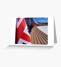 Brittish Flag Greeting Card
