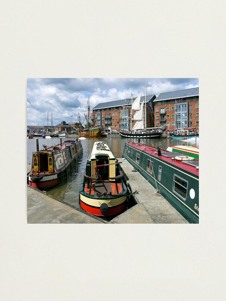 Alternate view of Gloucester Docks Photographic Print