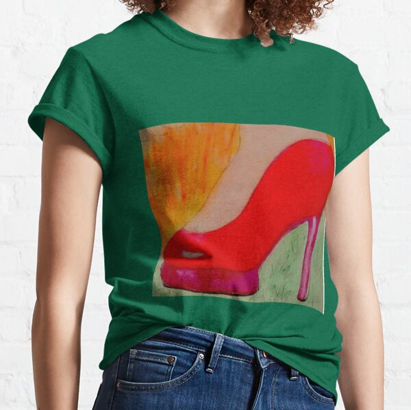 What would you wear to the apocalypse? #IWoreHeels Classic T-Shirt