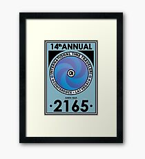 The Time Traveler's Conference 2165 Framed Print