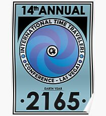 The Time Traveler's Conference 2165 Poster