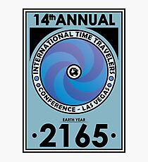 The Time Traveler's Conference 2165 Photographic Print