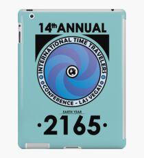 The Time Traveler's Conference 2165 iPad Case/Skin