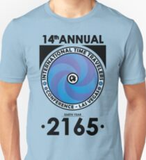 The Time Traveler's Conference 2165 Unisex T-Shirt