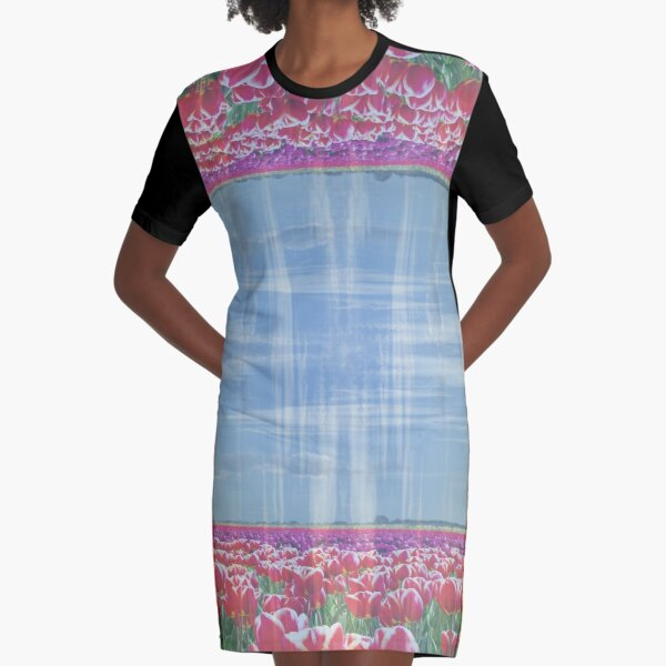 SKAGIT VALLEY TULIPS 1 Graphic T-Shirt Dress