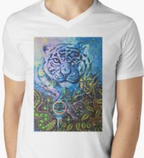 Tiger Vision Men's V-Neck T-Shirt