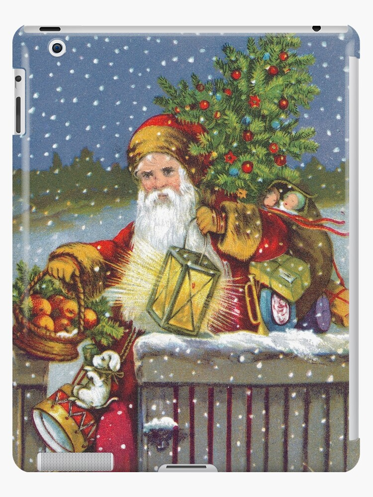 Santa Claus Ipad Case Skin By Neilbaylis Redbubble
