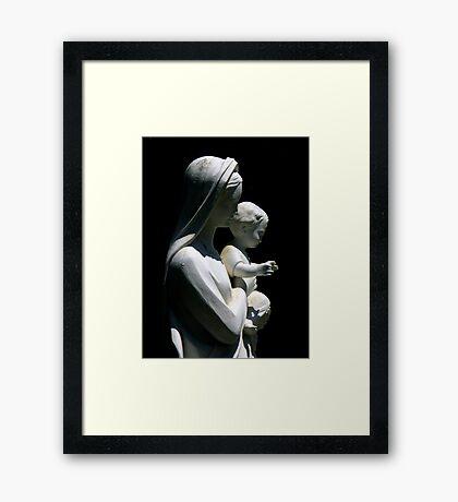Entre Ombres Et Lumiere ~ Part Five Framed Print